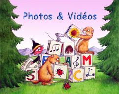 Widget Photos & Vidéos